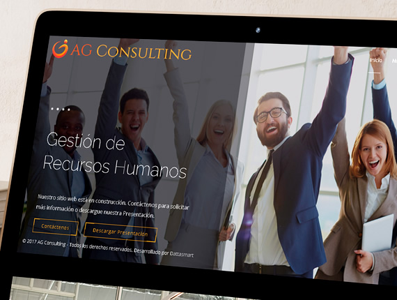 AG Consulting. Sitio Web