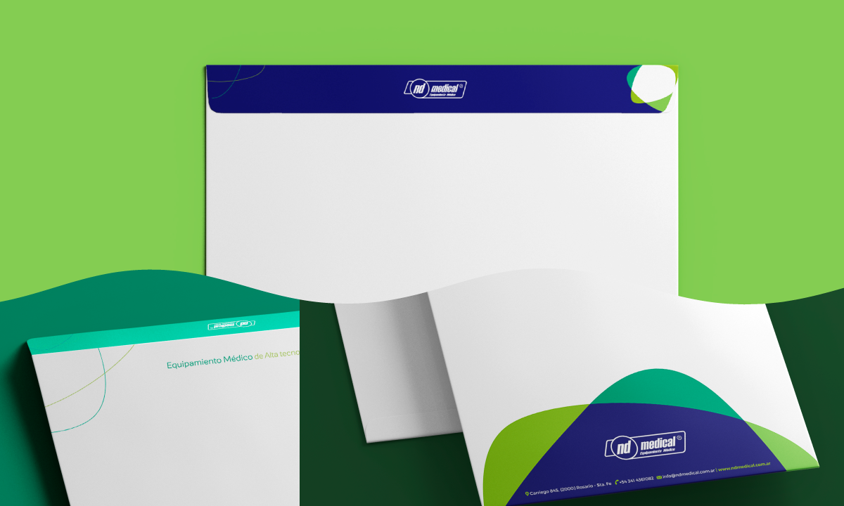 Portfolio. ND Medical. Identidad Visual