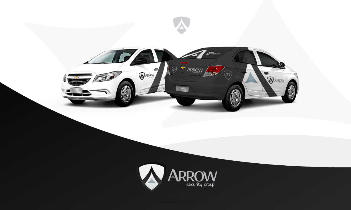 Portfolio. Arrow Security Group. Identidad Visual