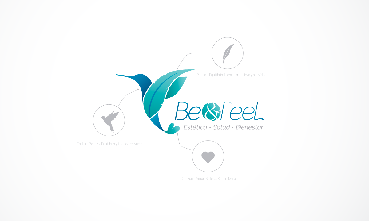 Portfolio. Be and Feel. Identidad Visual